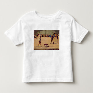 Dog Fighting (oil on paper) Tshirt