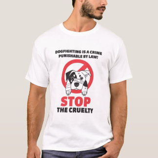 Dog Fighting Protest T-Shirt