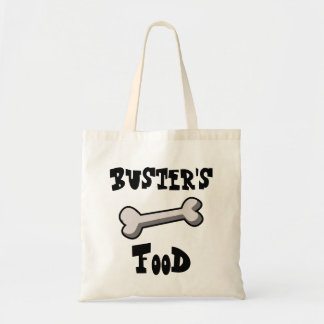 Dog Food or Treats Bag with Bone Customize