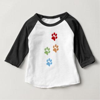 Dog footprint baby T-Shirt