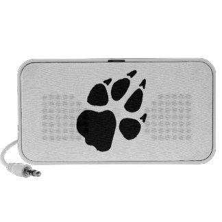 Dog Footprint Travelling Speakers