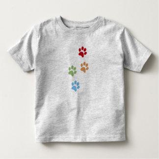 Dog footprint toddler T-Shirt