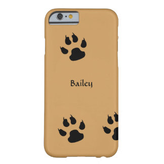 Dog Footprints Barely There iPhone 6 Case