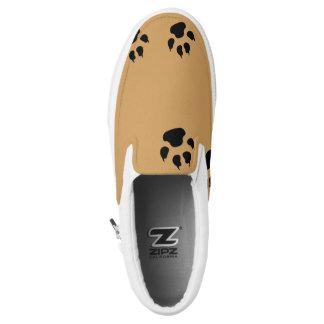 Dog Footprints Printed Shoes