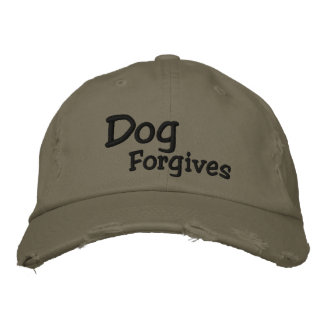 Dog Forgives Baseball Hat Baseball Cap