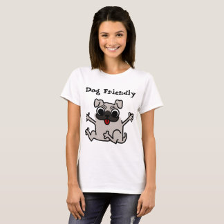 Dog friendly awesome tshirt