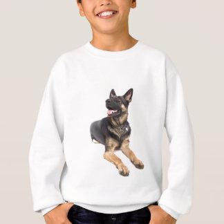 dog - german shepherd sweatshirt
