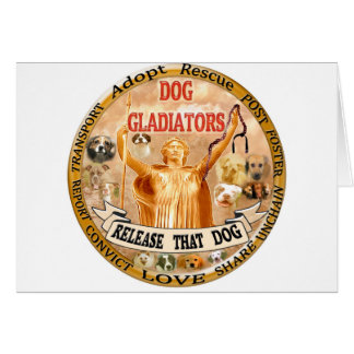 DOG GLADIATORS CARD