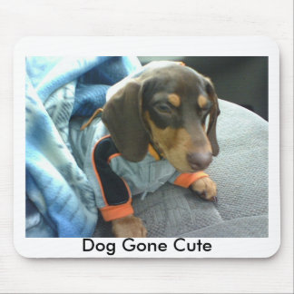 Dog Gone Cute Mouse Pad