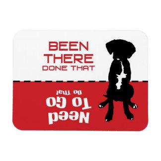 Dog Gone Potty Magnet - let the dog out