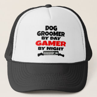 Dog Groomer Gamer Trucker Hat
