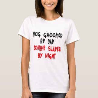 Dog Groomer Zombie Slayer T-Shirt