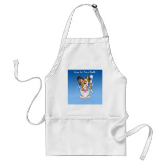 Dog Groomers Apron Time for Your Bath