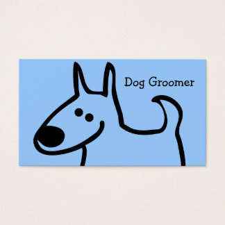 Dog Grooming Business Cards