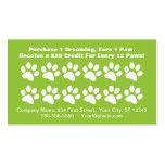 Dog Grooming Customer Reward Card - Loyalty Card