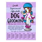 Dog Grooming. Customisable Promotional Tear sheet