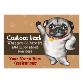 Dog Grooming Dog Groomer Dog Walker template Pack Of Chubby Business Cards