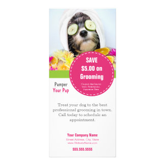 Dog Grooming Rack Card- Make it into anything Custom Rack Cards