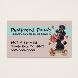 Dog Grooming Services Business Card