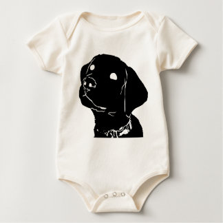 Dog Guide Puppy Baby Bodysuit