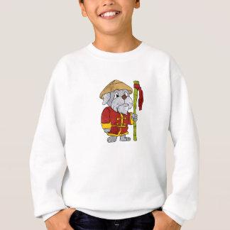 Dog guru master cartoon sweatshirt