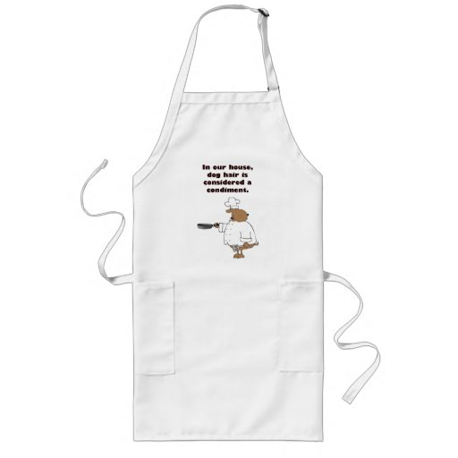Dog Hair Condiments Aprons