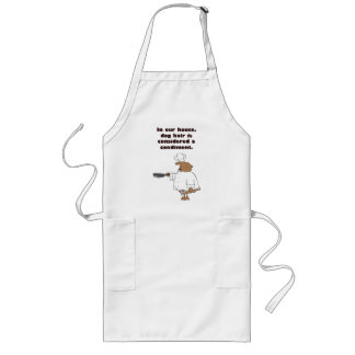 Dog Hair Condiments Long Apron