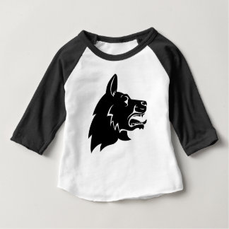 Dog Head Icon Baby T-Shirt