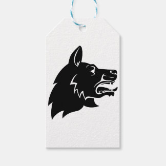 Dog Head Icon Gift Tags