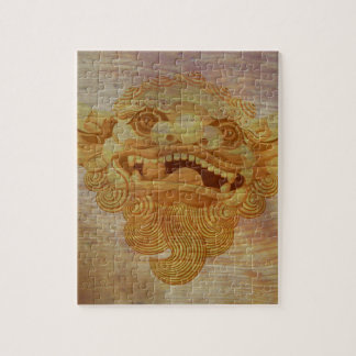 Dog head on a wooden board 9.1.3 jigsaw puzzle