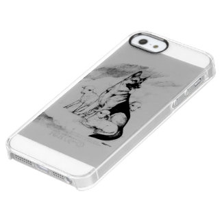 Dog Heaven, the Master's Flock Clear iPhone SE/5/5s Case