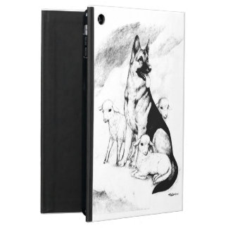 Dog Heaven, the Master's Flock iPad Air Cover
