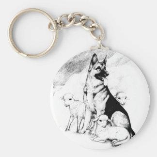 Dog Heaven, the Master's Flock Key Ring