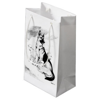 Dog Heaven, the Master's Flock Small Gift Bag