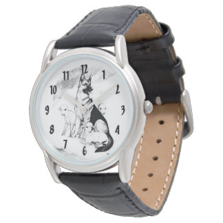 Dog Heaven, the Master's Flock Wristwatches