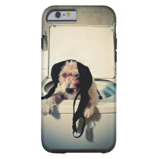 Dog helping out with the wash tough iPhone 6 case