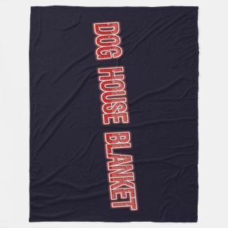 Dog House Fleece Blanket