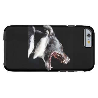Dog howl iphone cover