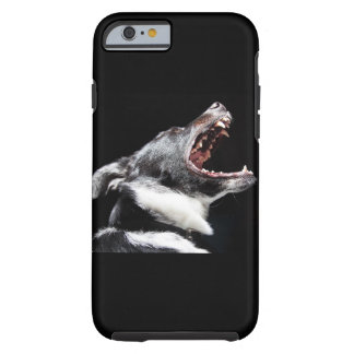 Dog howl iphone cover tough iPhone 6 case