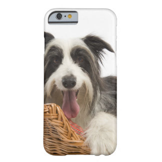 Dog in basket 2 barely there iPhone 6 case