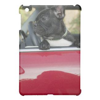 Dog in car iPad mini cover