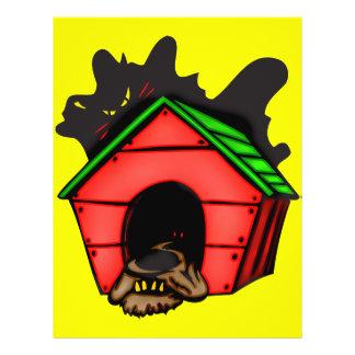 Dog In Dog House 21.5 Cm X 28 Cm Flyer