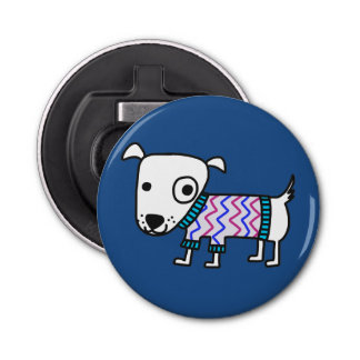 Dog In Sweater, bottle opener