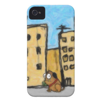 Dog in the City iPhone 4 Case