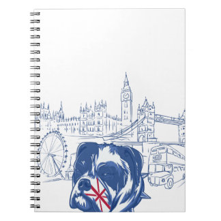 dog in the united kingdom notebook