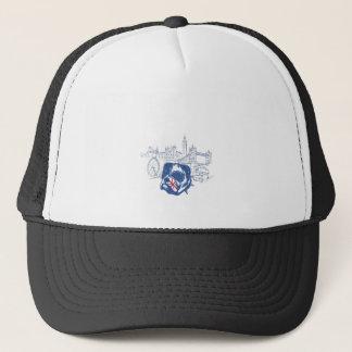dog in the united kingdom trucker hat