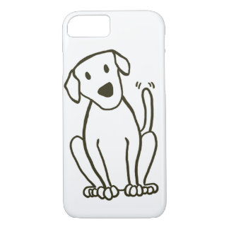 Dog iPhone 7 Case - Labrador Love