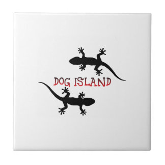 Dog Island Florida. Ceramic Tile