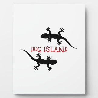 Dog Island Florida. Display Plaque