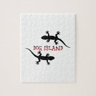 Dog Island Florida. Jigsaw Puzzle